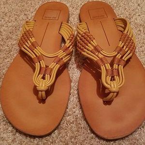Dolce Vita flip flops.  Like new.